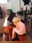 Lily praying!